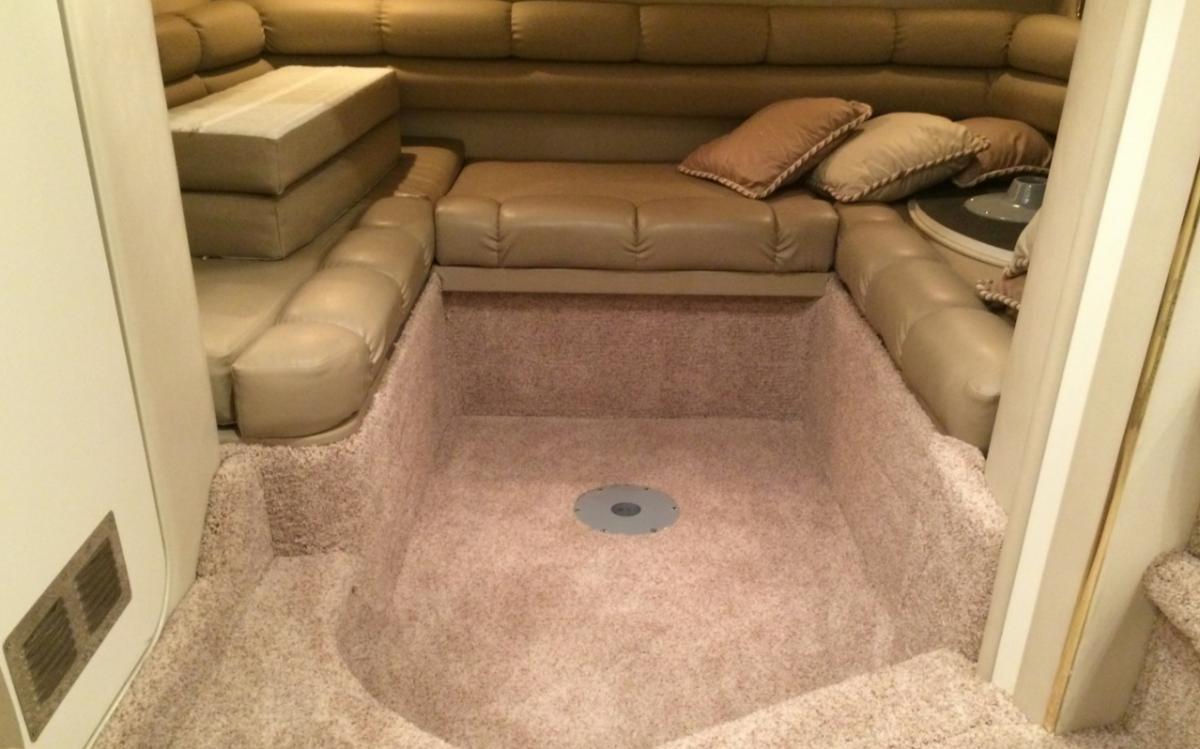 install marine carpet