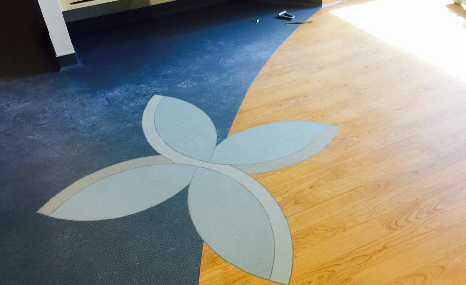 welded sheet vinyl flooring